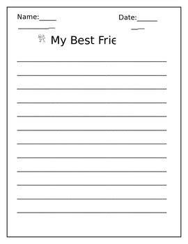 My best friend is essay